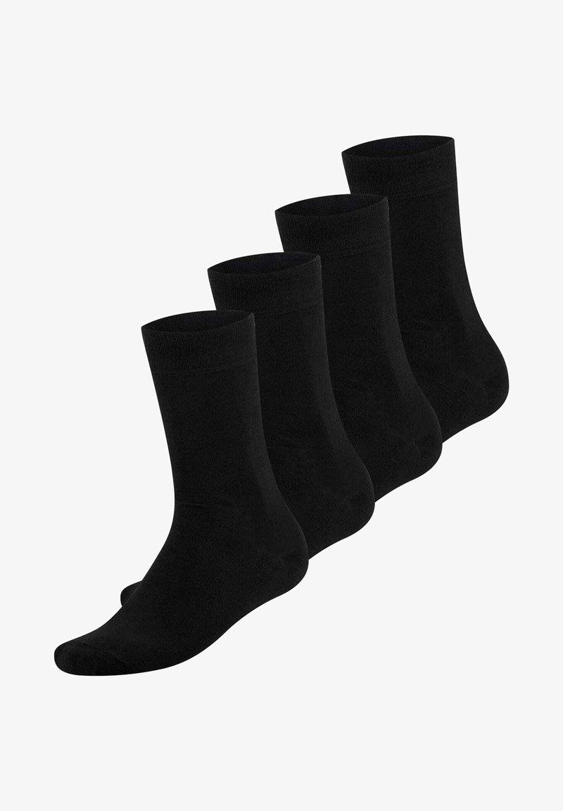 Bambocks - 4 PACK - Sokken - black
