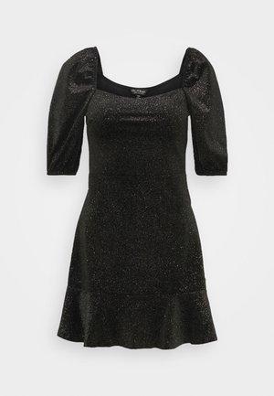 RUCHED DRESS - Dnevna haljina - black