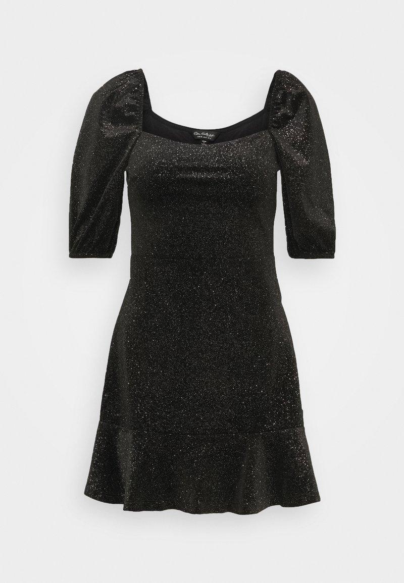Miss Selfridge - RUCHED DRESS - Freizeitkleid - black