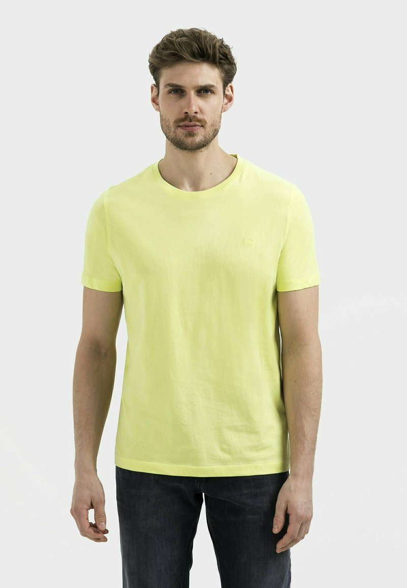 camel active - Basic T-shirt - limone