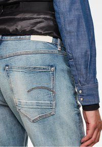 G-Star - KATE BOYFRIEND - Relaxed fit jeans - antic faded lapo blue destroyed - 3