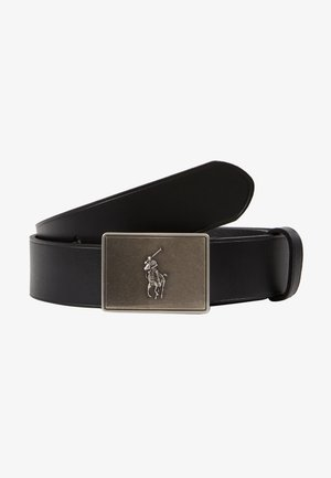 PONY BUCKLE-CASUAL - Pásek - black