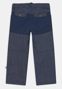Finkid - KALLE HUSKY UNISEX - Outdoorové kalhoty - blue denim - 1