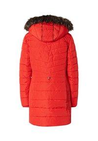 TOM TAILOR - MIT KAPUZE - Winter coat - red - 1