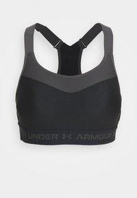 High support sports bra - black