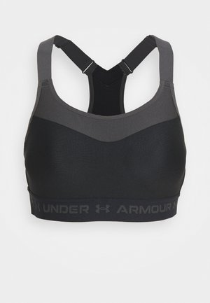 High support sports bra - black