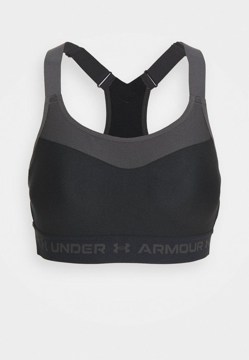 Under Armour - Reggiseno sportivo con sostegno elevato - black