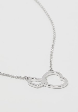 WHITE GOLD - Necklace - silver