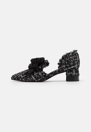VALEGRA - Classic heels - black/silver