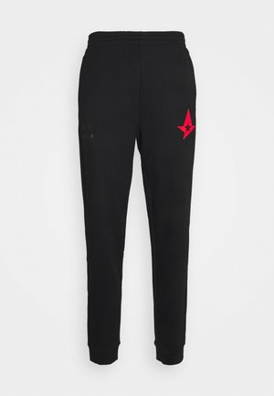 ASTRALIS PANTS - Tracksuit bottoms - black