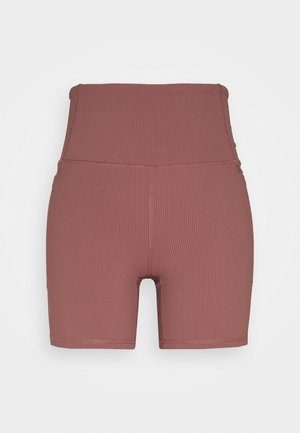 POCKET BIKE SHORT - Tights - dusty rose