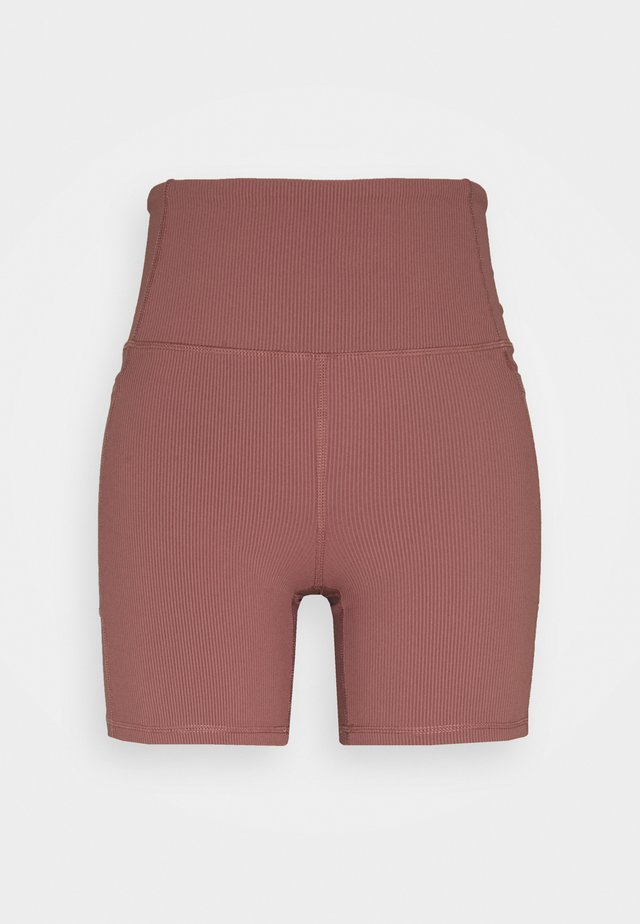 POCKET BIKE SHORT - Legging - dusty rose