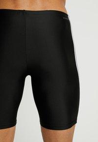 adidas Performance - FIT JAM  - Szorty kąpielowe - black/white - 1