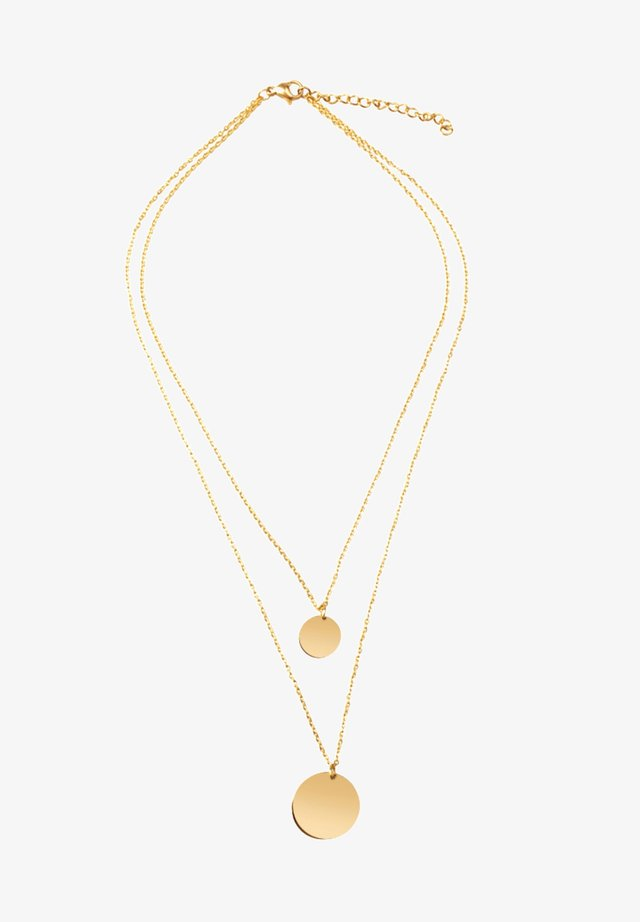 COIN KETTE - Collier - gold