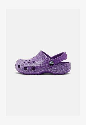 CLASSIC GLITTER - Pool slides - neon purple