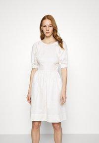 Who What Wear - CUT OUT BACK DRESS - Day dress - powder - 0