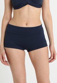 Seafolly - ROLL TOP BOYLEG - Bikini bottoms - indigo - 0