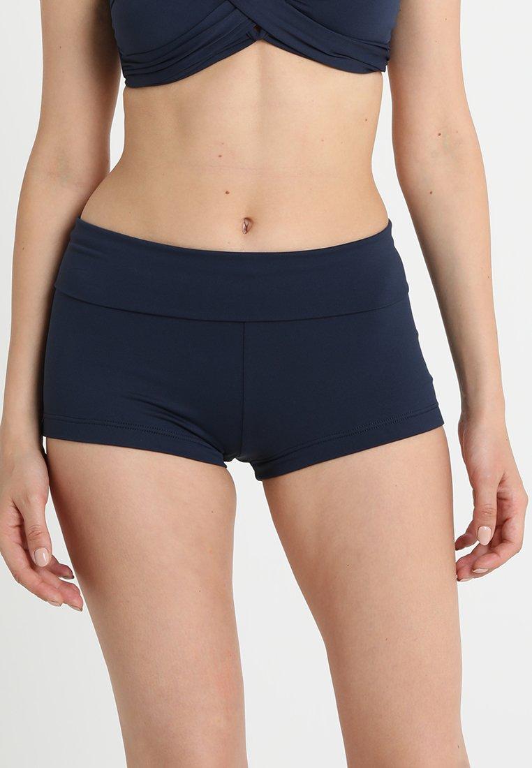 Seafolly - ROLL TOP BOYLEG - Bikini bottoms - indigo