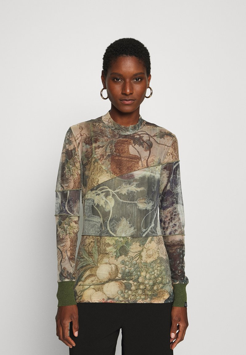 Desigual - CHATTE - Long sleeved top - deep lichen