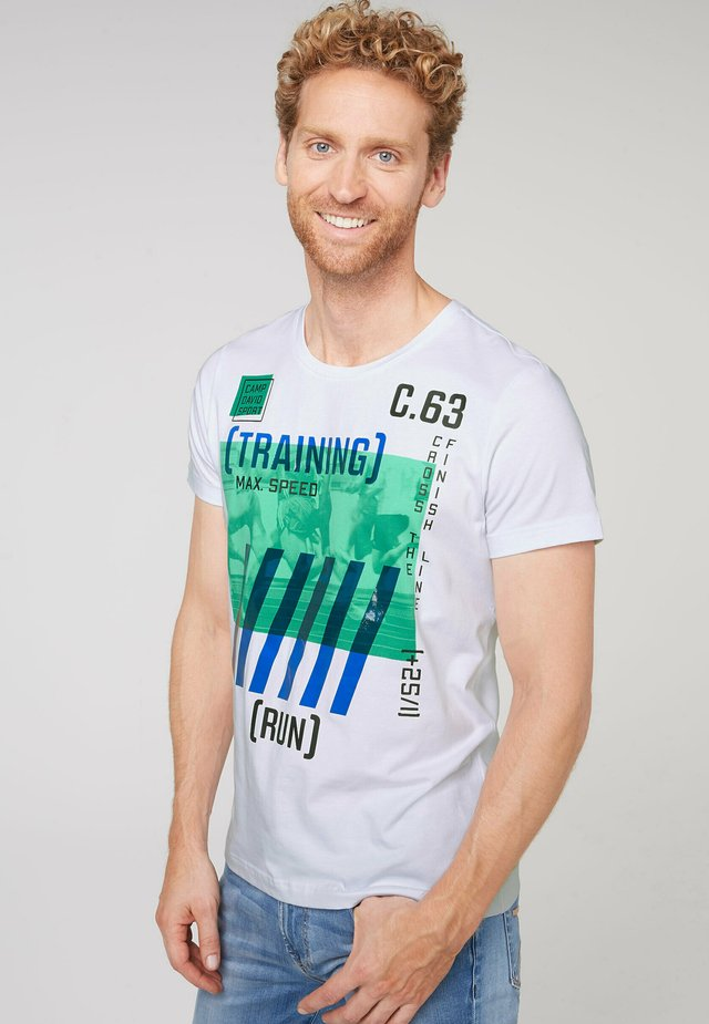 Print T-shirt - opticwhite