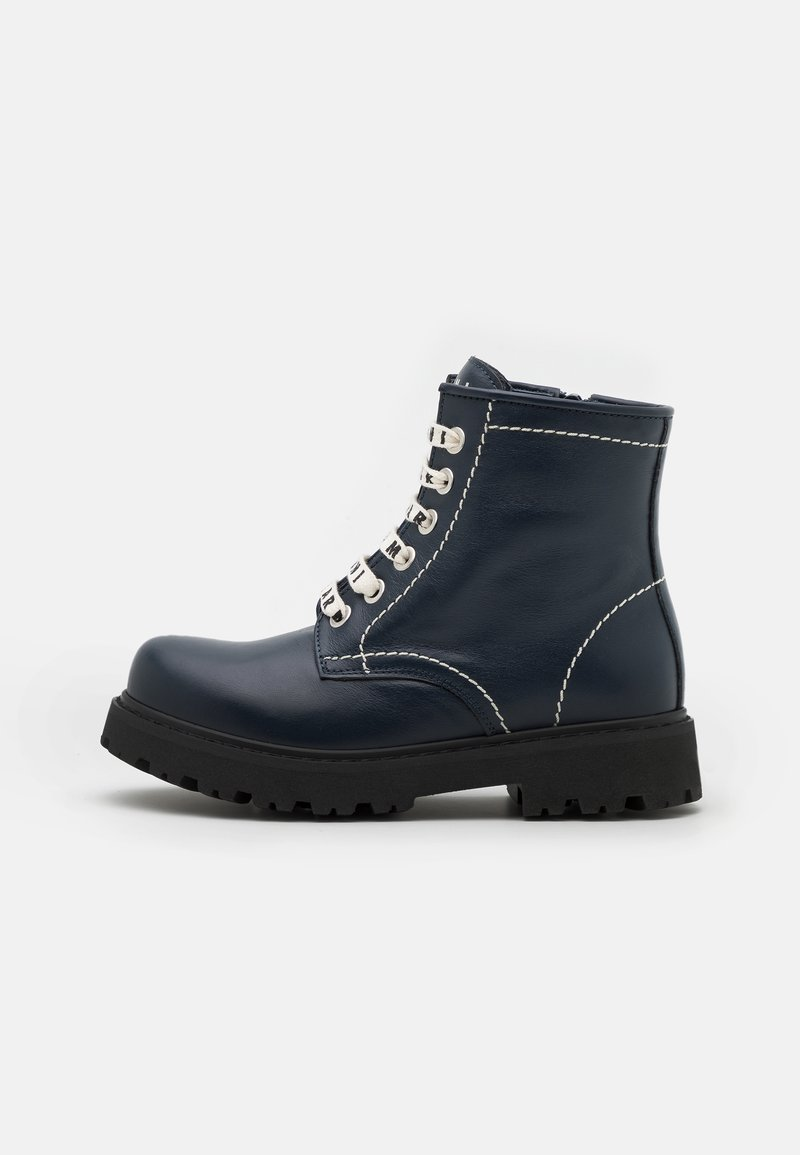Marni - Lace-up ankle boots - dark blue
