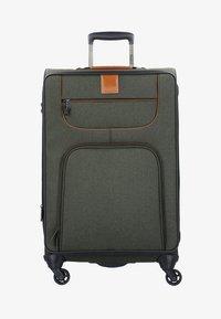 Stratic - 4 ROLLEN TROLLEY - Wheeled suitcase - khaki - 0