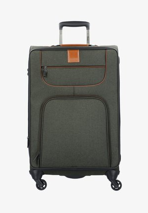 4 ROLLEN TROLLEY - Wheeled suitcase - khaki