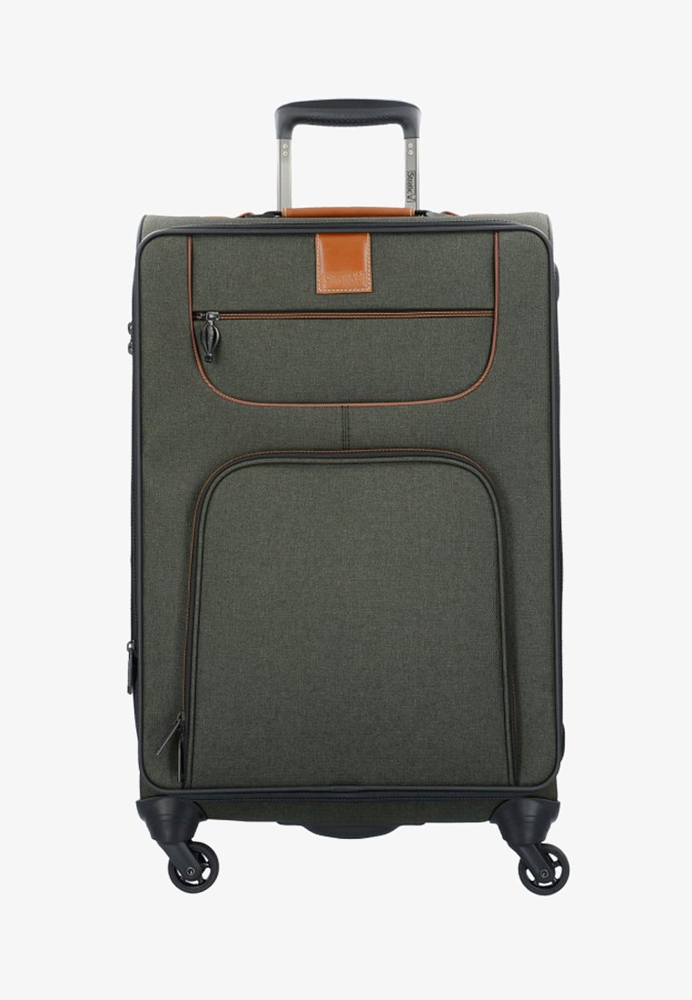Stratic - 4 ROLLEN TROLLEY - Wheeled suitcase - khaki