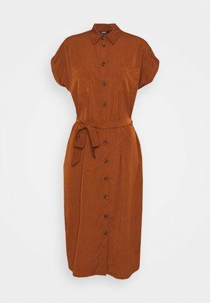 ONLHANNOVER SHIRT DRESS - Shirt dress - tortoise shell