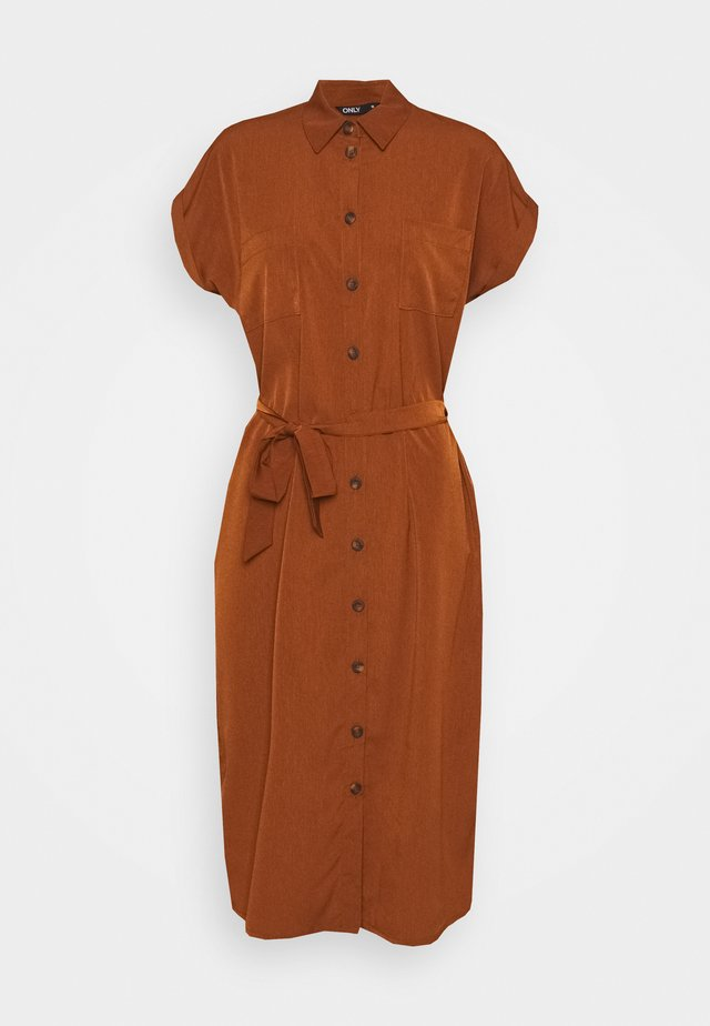 ONLHANNOVER SHIRT DRESS - Shirt dress - tortoise shell