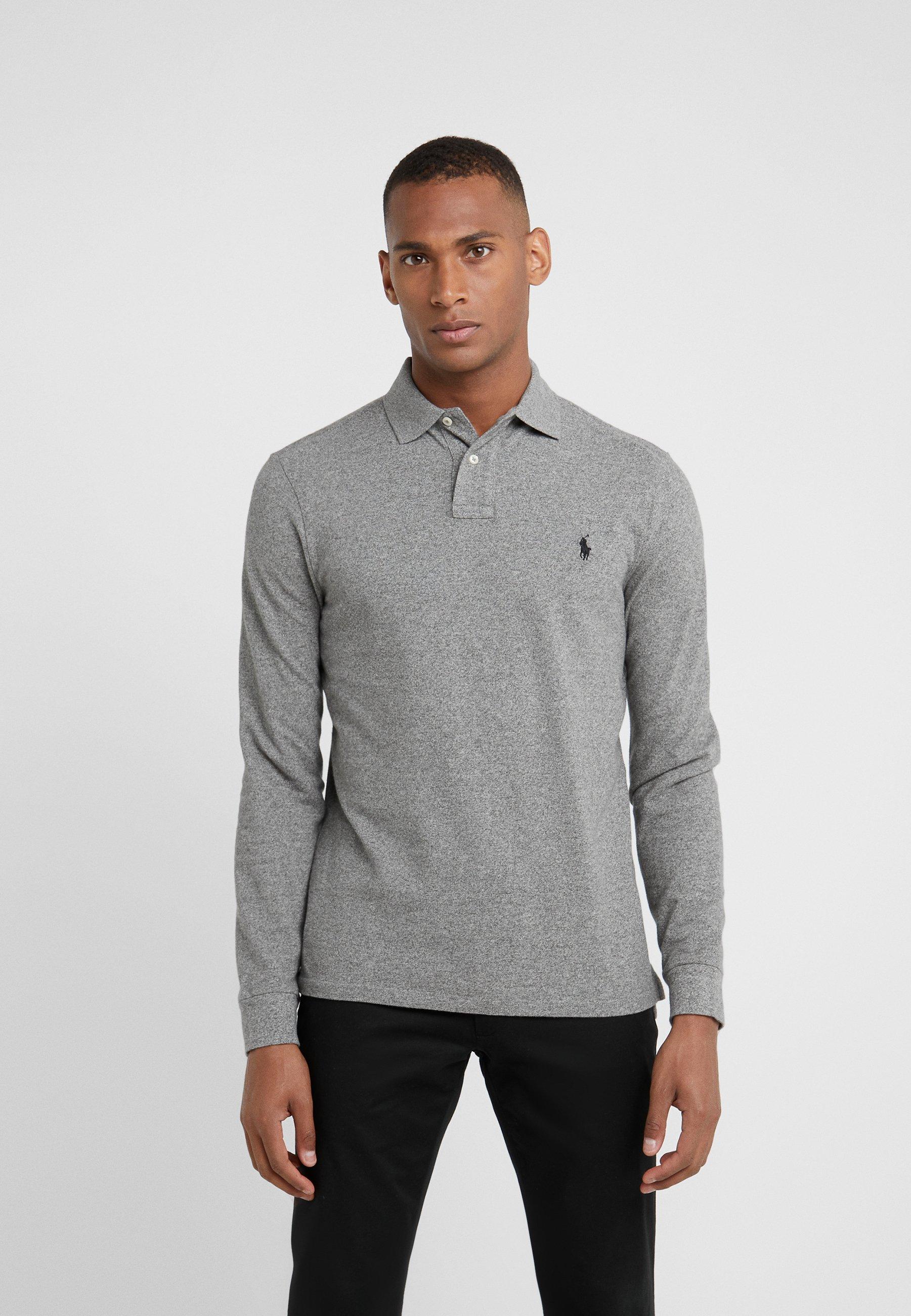 Men LONG SLEEVE - Polo shirt
