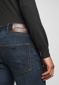 Emporio Armani - Straight leg jeans - blue denim - 5