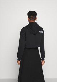 The North Face - TREND CROP DROP HOODIE - Sweatshirt - black - 2