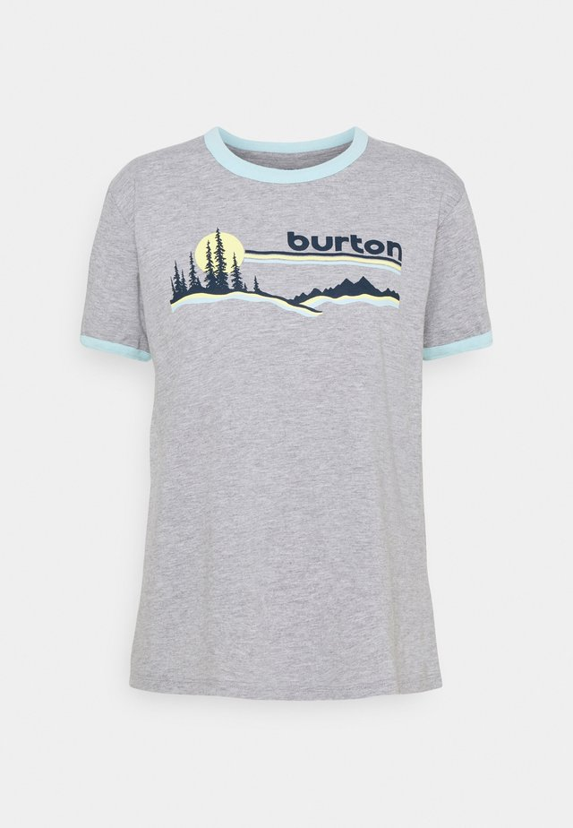 CARLOW TEE GRAY HEATHER - T-shirt print - gray heather