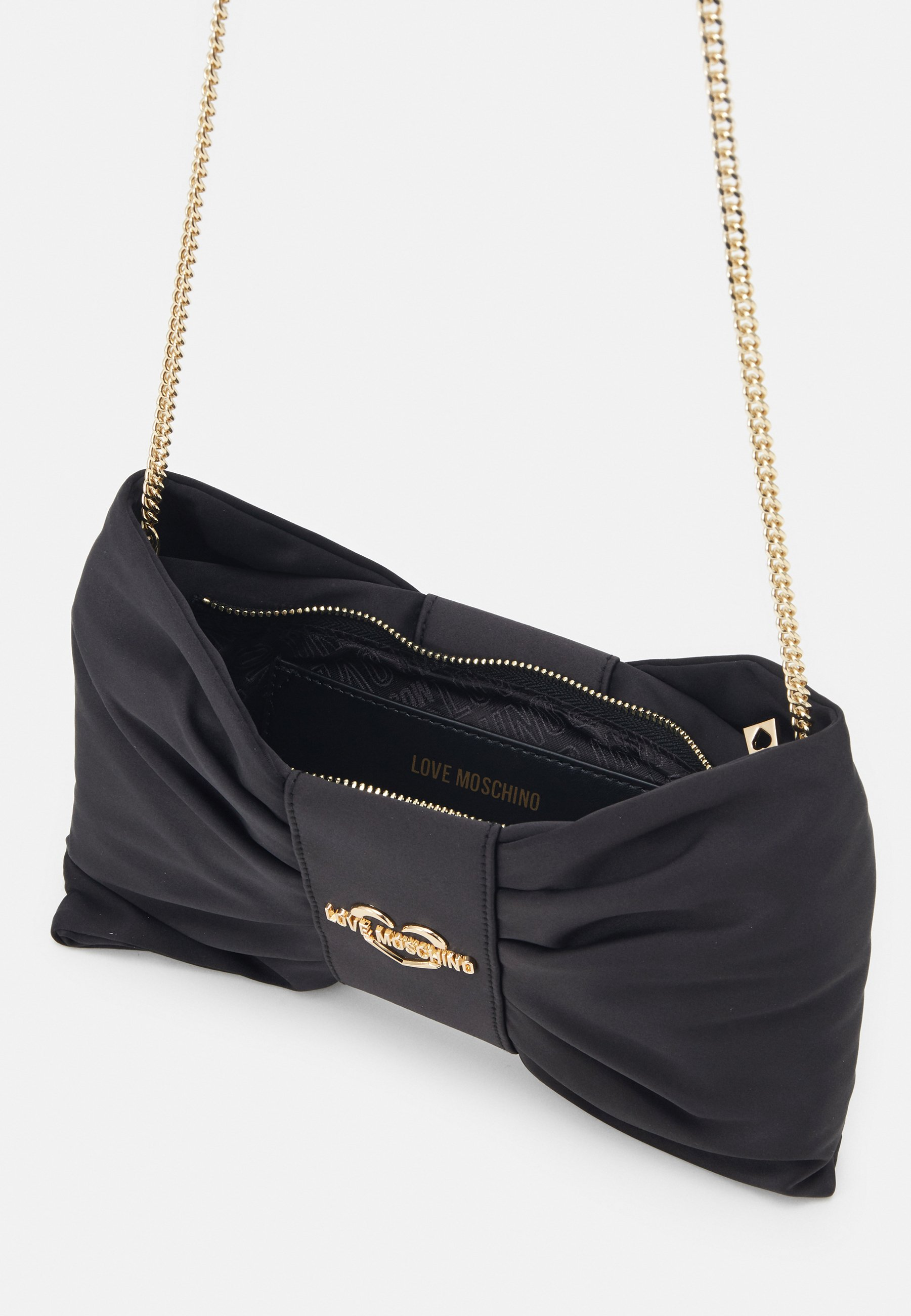 Clearance Outlet Love Moschino BORSA CHAMPAGNE - Across body bag - black | women's accessories 2020 KfZZq