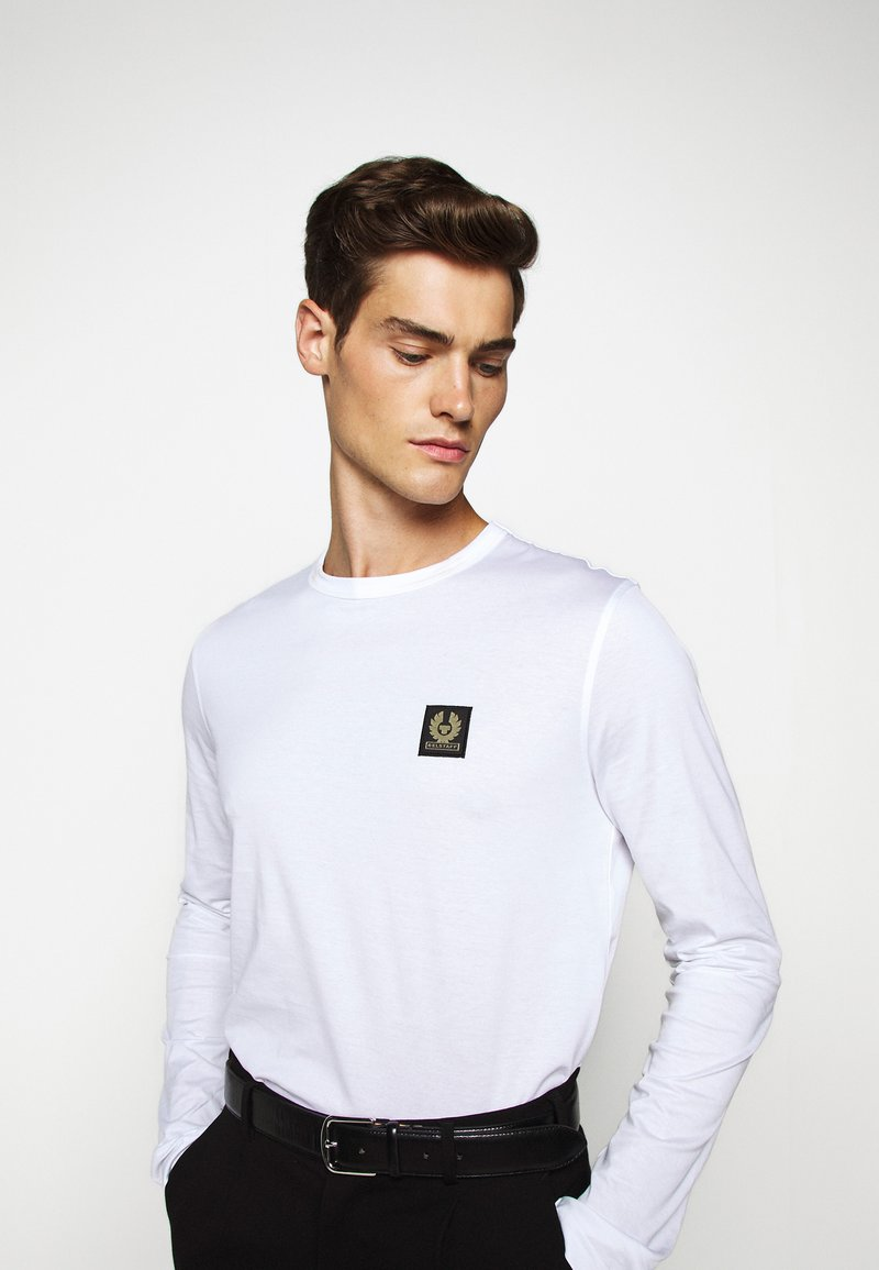 Belstaff - LONG SLEEVED  - Long sleeved top - white