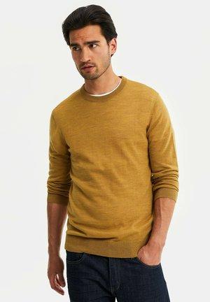 Jumper - ochre yellow