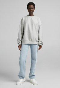 Bershka - OVERSIZE  - Sweatshirt - light grey - 1