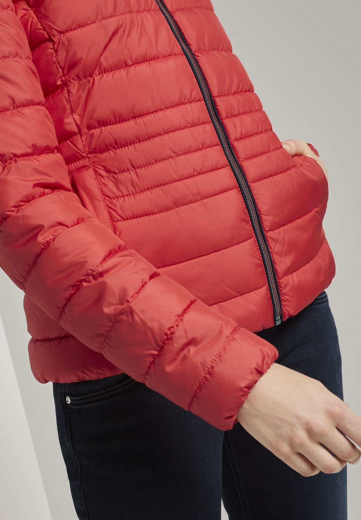 TOM TAILOR ULTRA LIGHT WEIGHT JACKET Winterjacke Strong Red/rot