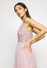 Lace & Beads - AVA SKATER - Sukienka koktajlowa - dusty pink - 4
