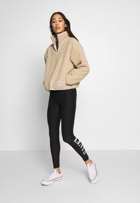 Levi's® - Leggings - Trousers - logo legging mineral black mineral black - 1