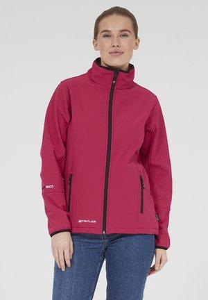 Covina MIT WASSERDICHTER ZWISCHENMEMBRAN - Soft shell jacket - red