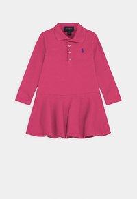 Polo Ralph Lauren - Denní šaty - college pink/boysenberry - 0