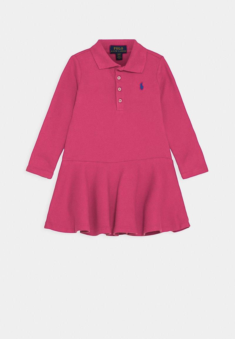 Polo Ralph Lauren - Denní šaty - college pink/boysenberry