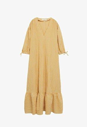 Day dress - senfgelb