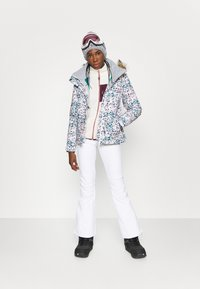 Roxy - CREEK - Ski- & snowboardbukser - bright white - 1