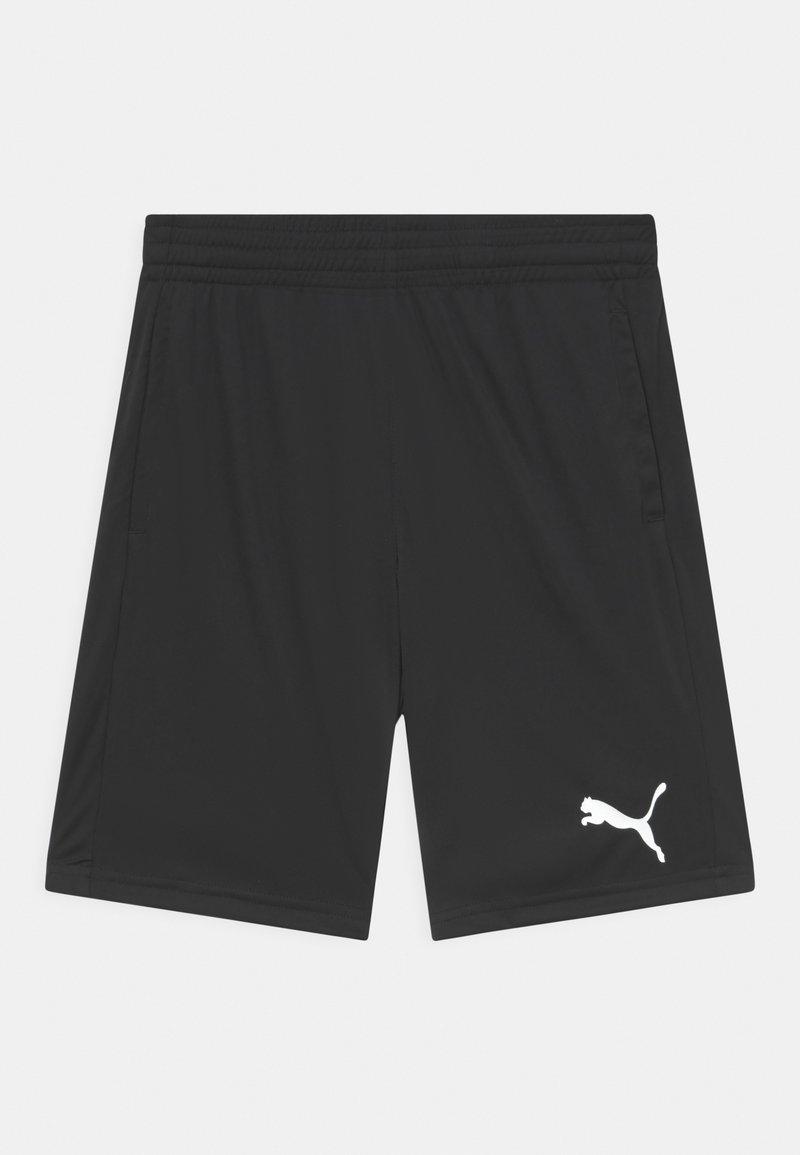 Puma - ACTIVE INTERLOCK UNISEX - Sports shorts - black