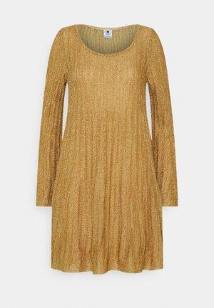 ABITO - Jumper dress - gold