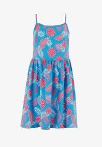 DeFacto - SUMMER - Jersey dress - blue - 0