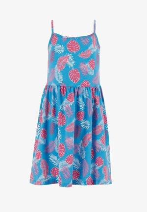 SUMMER - Jersey dress - blue